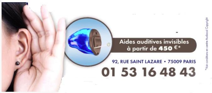 Audioprothésiste à Paris Saint Lazare